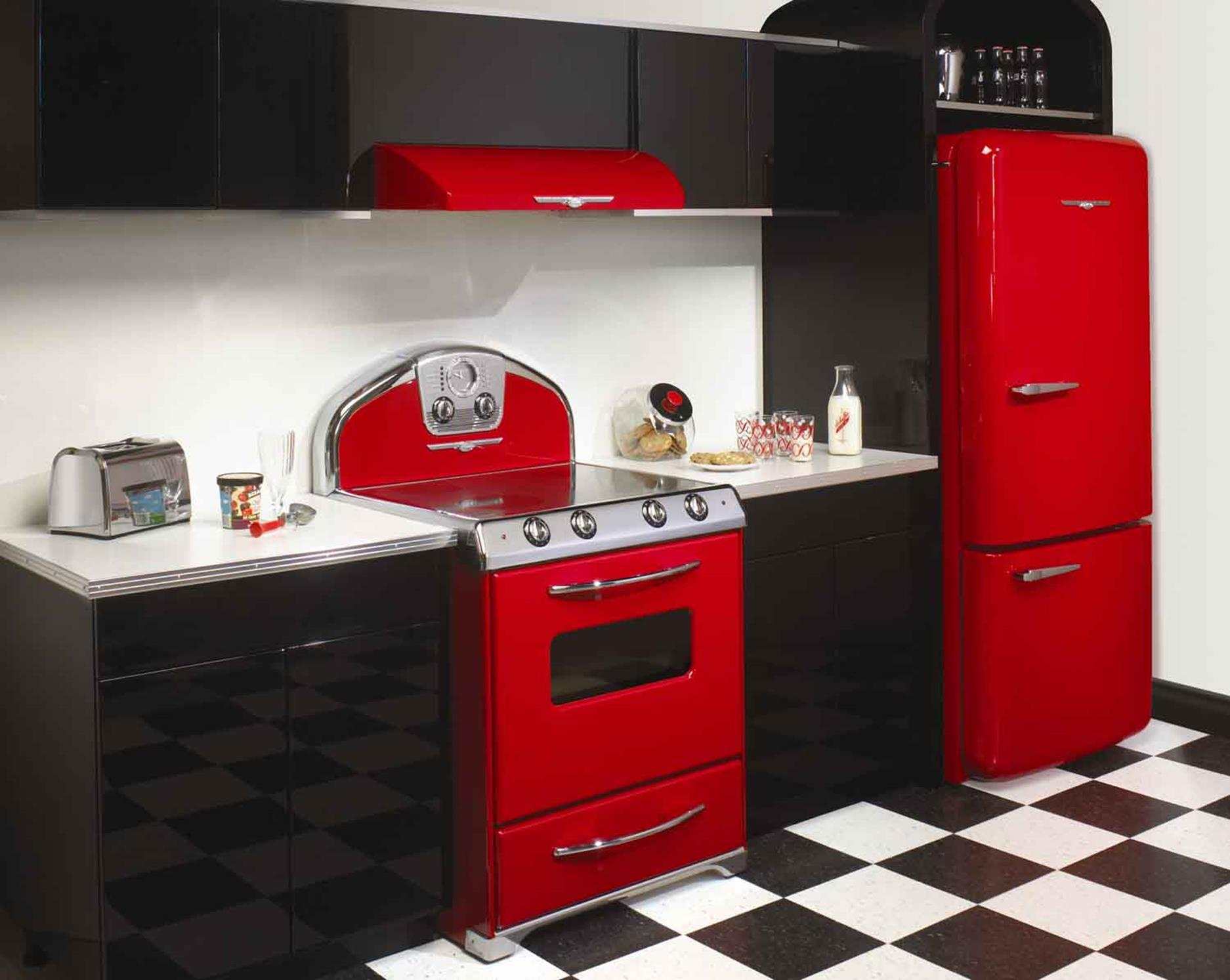 Awesome Retro Style Kitchen Design 25