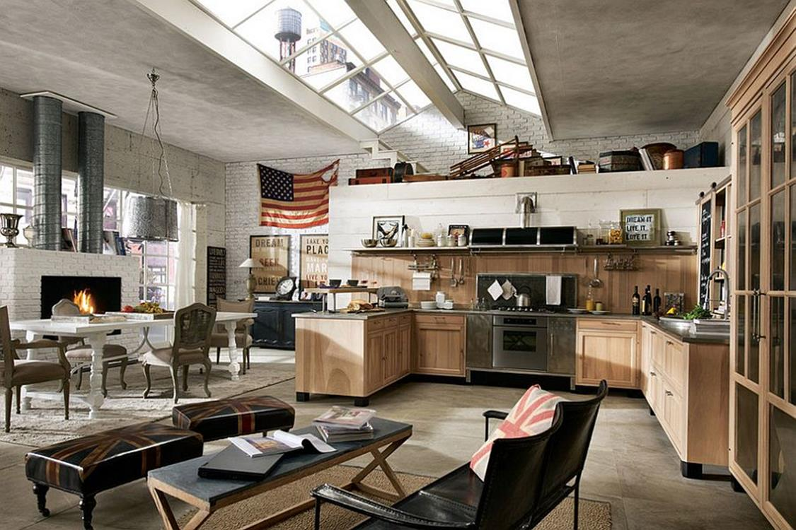 Awesome Retro Style Kitchen Design 26