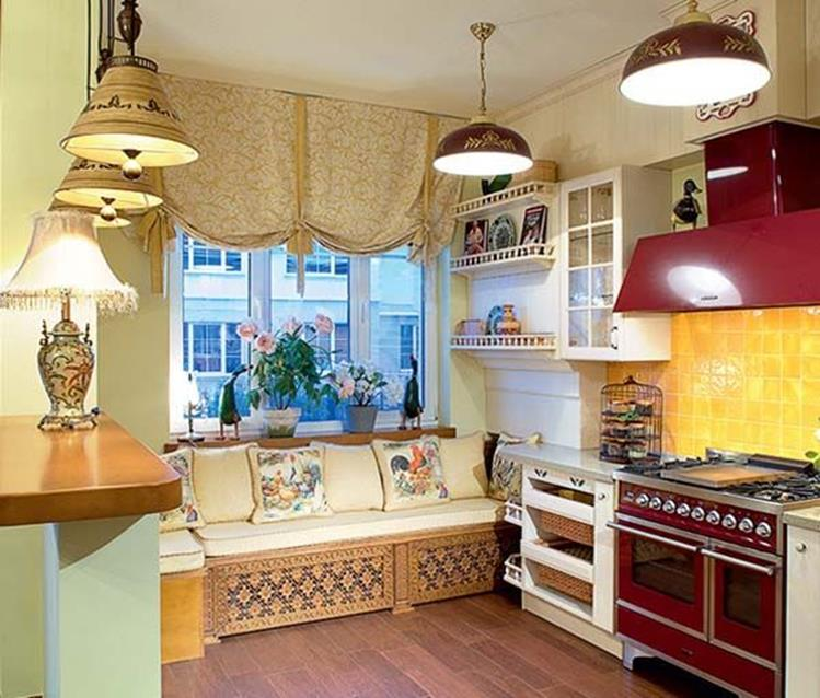 Awesome Retro Style Kitchen Design 3