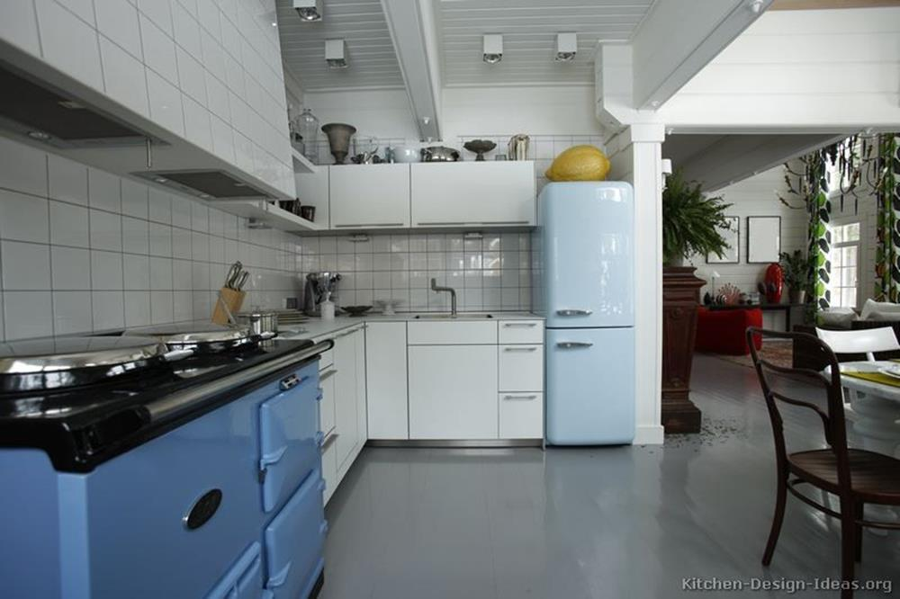 Awesome Retro Style Kitchen Design 34