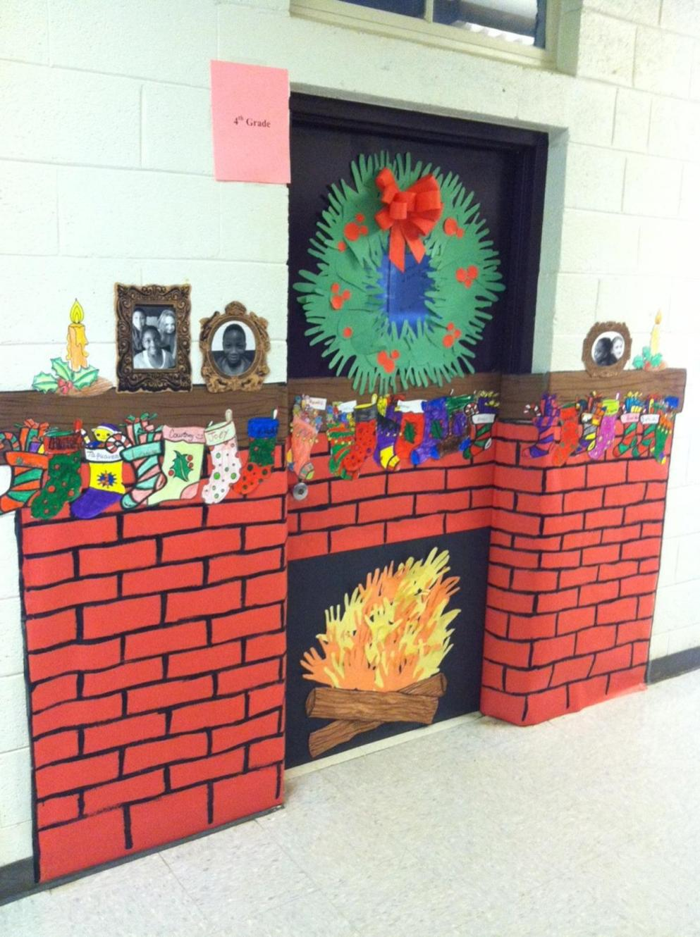 Christmas Door Decorating Contest Winners 45