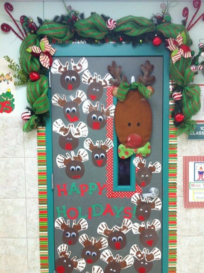 Christmas Door Decorating Contest Winners 47