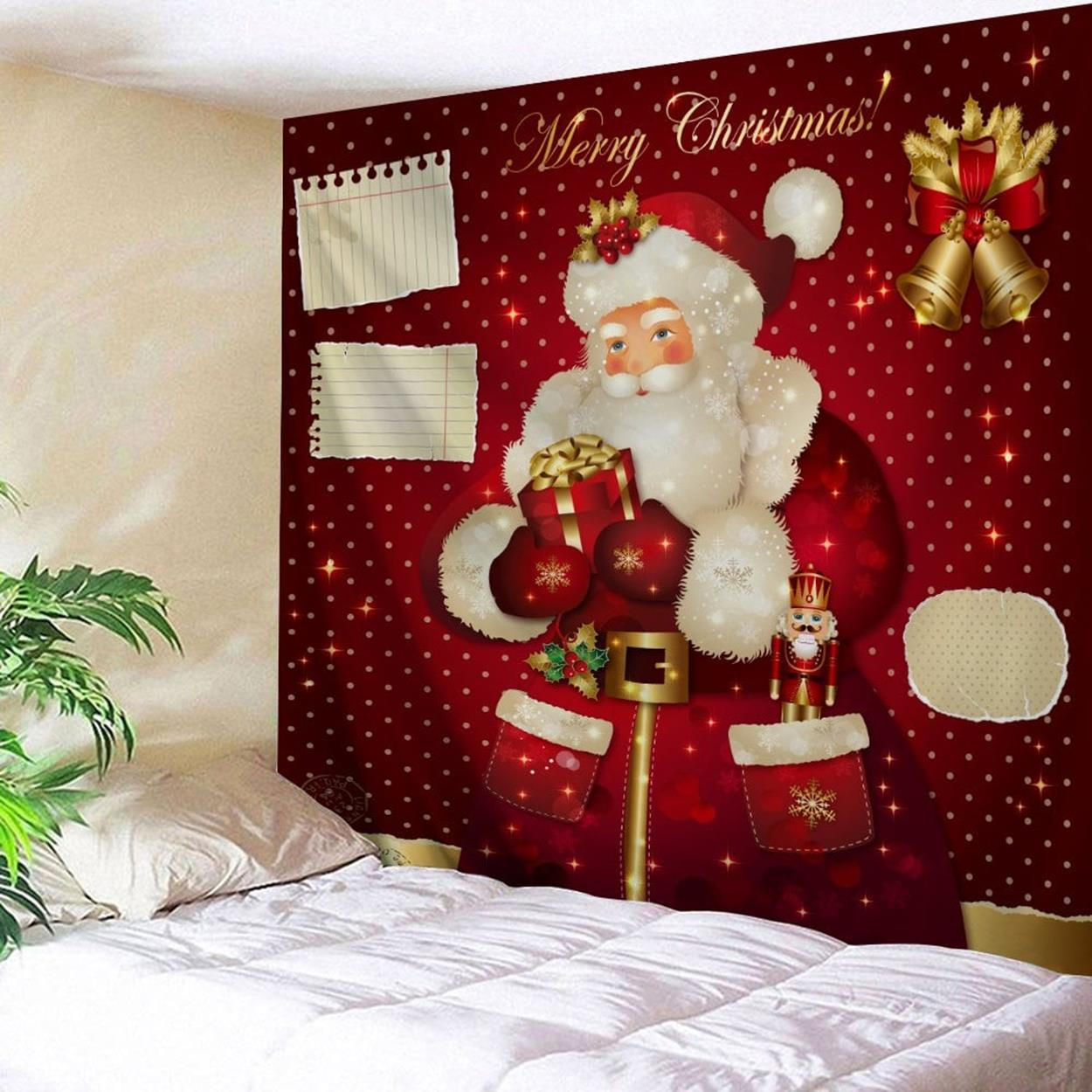 Bathroom with Holiday Wall Decor 12