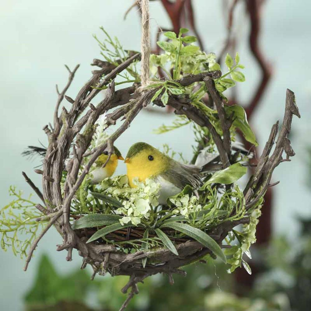 Beautiful Bird Twig Wreath for Your Sweet Home 2