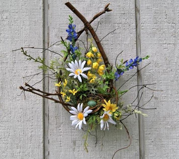 Beautiful Bird Twig Wreath for Your Sweet Home 20