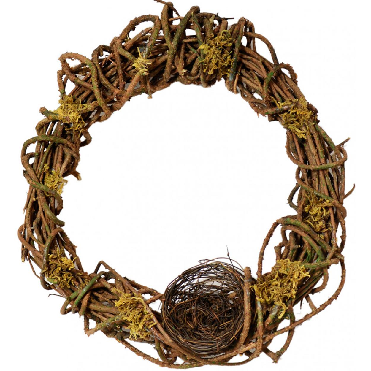 Beautiful Bird Twig Wreath for Your Sweet Home 23