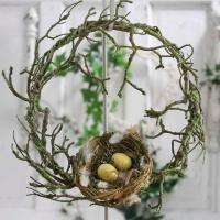 28 Beautiful Bird Twig Wreath for Your Sweet Home