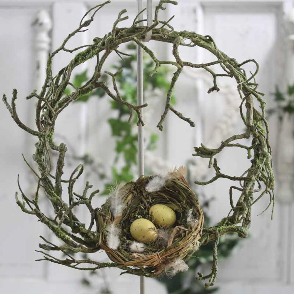 Beautiful Bird Twig Wreath for Your Sweet Home 26