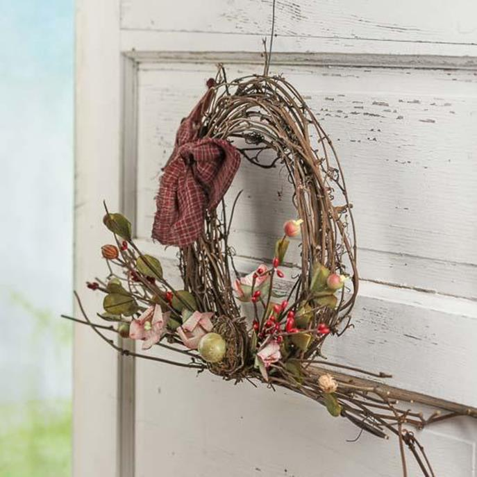Beautiful Bird Twig Wreath for Your Sweet Home 28