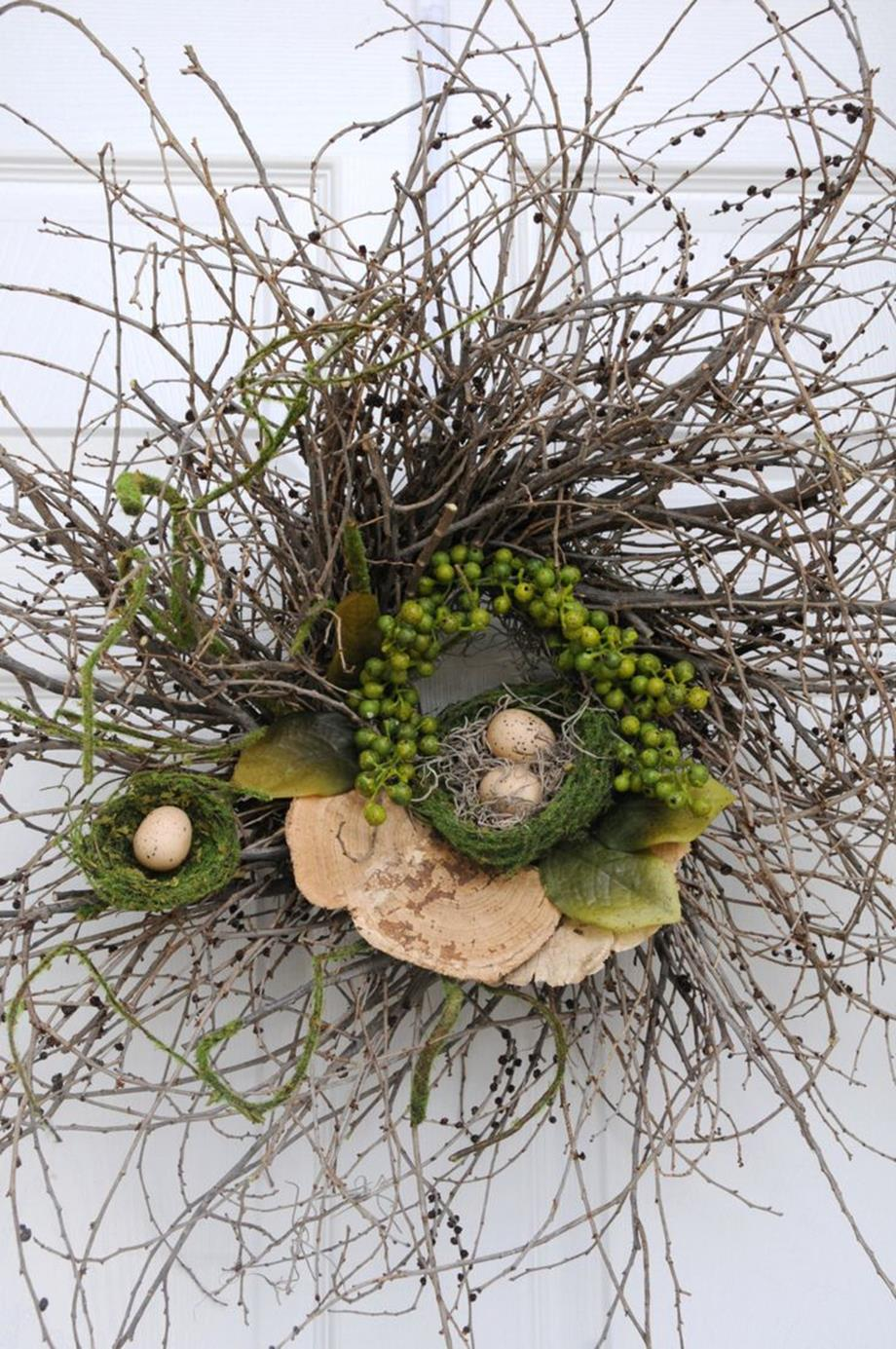 Beautiful Bird Twig Wreath for Your Sweet Home 6