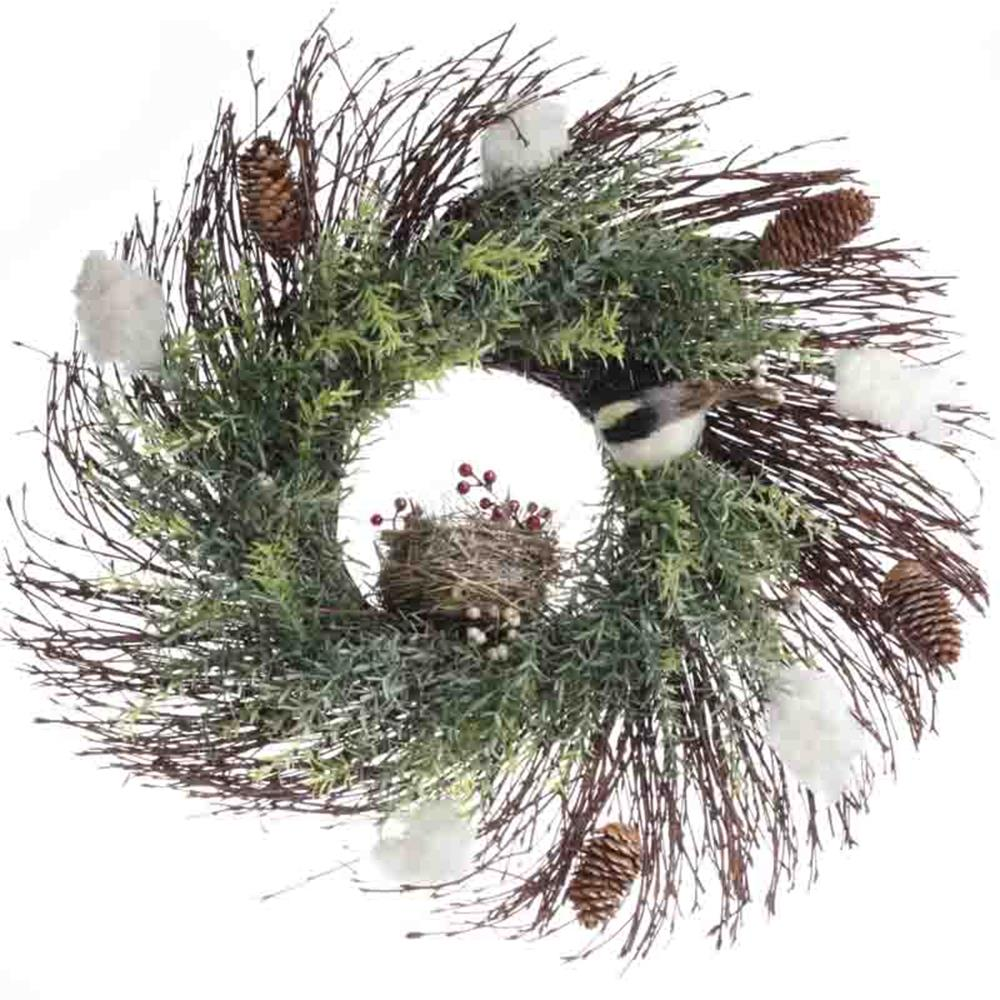 Beautiful Bird Twig Wreath for Your Sweet Home 7