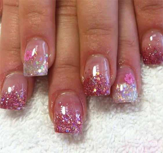 Gorgeous Valentines Day Acrylic Nail Designs 7