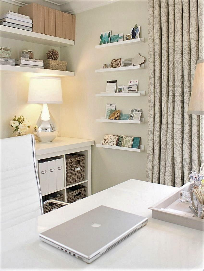 Comfy Home Workspace Decorating Ideas 10