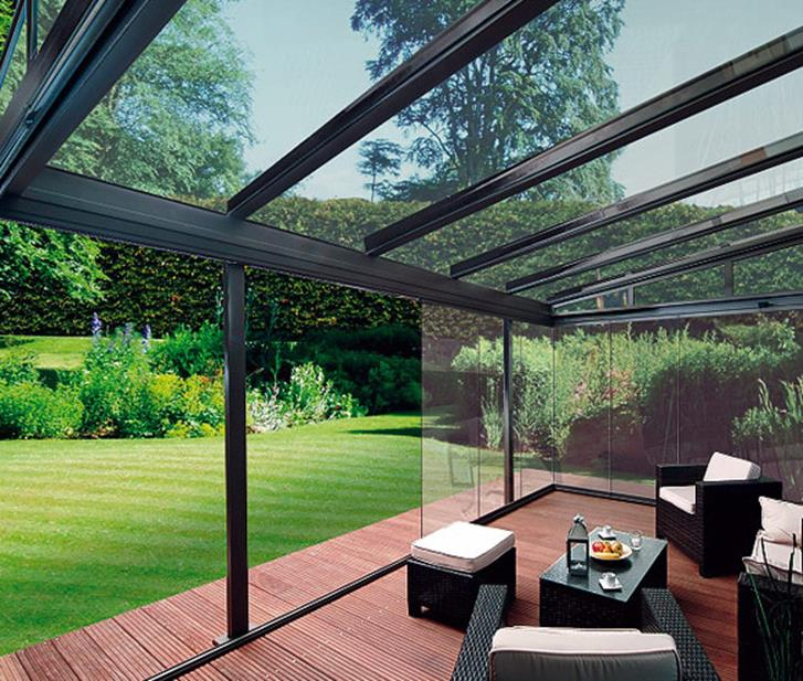 Cozy and Gorgeous Patio Roof with Pergola Glass 52