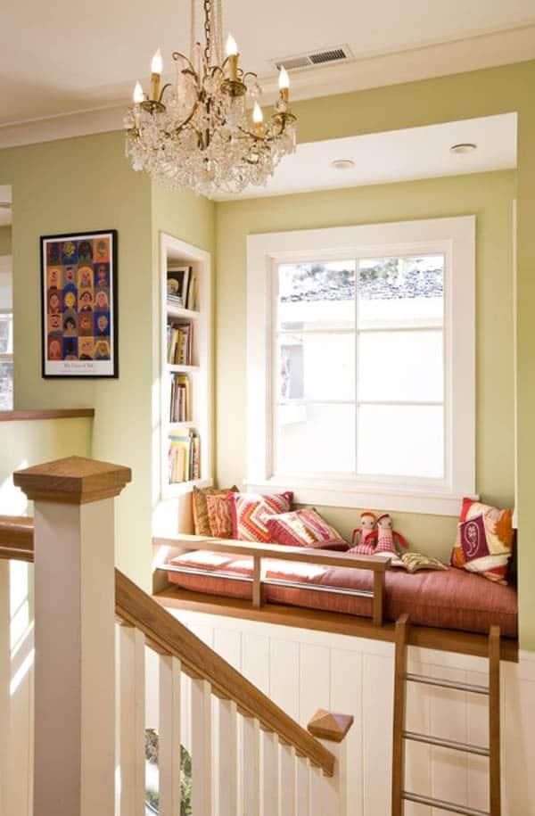 Cozy And Decorated Reading Nooks That Will Inspire You To Design Your Own Little Corner 13