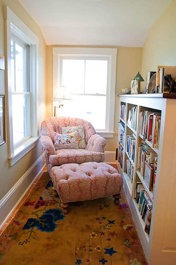 Cozy And Decorated Reading Nooks That Will Inspire You To Design Your Own Little Corner 25