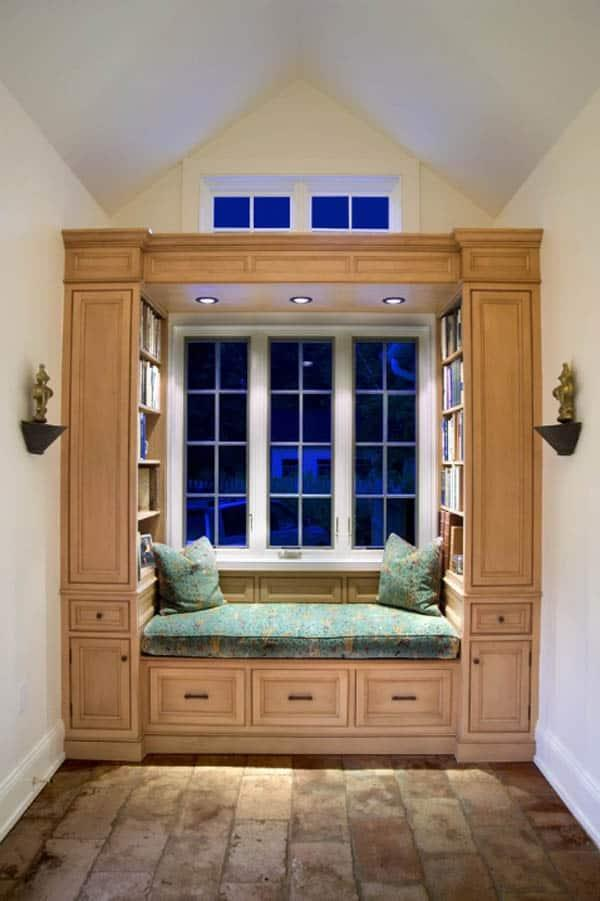 Cozy And Decorated Reading Nooks That Will Inspire You To Design Your Own Little Corner 34
