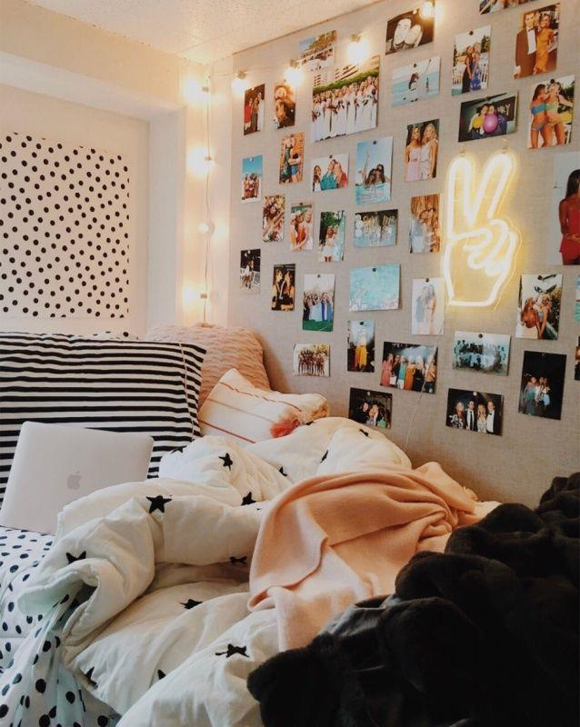 Cute VSCO Teen Girl Bedroom Ideas 24