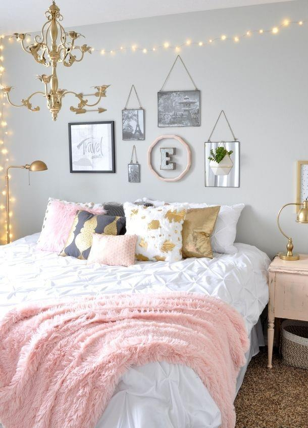 Cute VSCO Teen Girl Bedroom Ideas 26