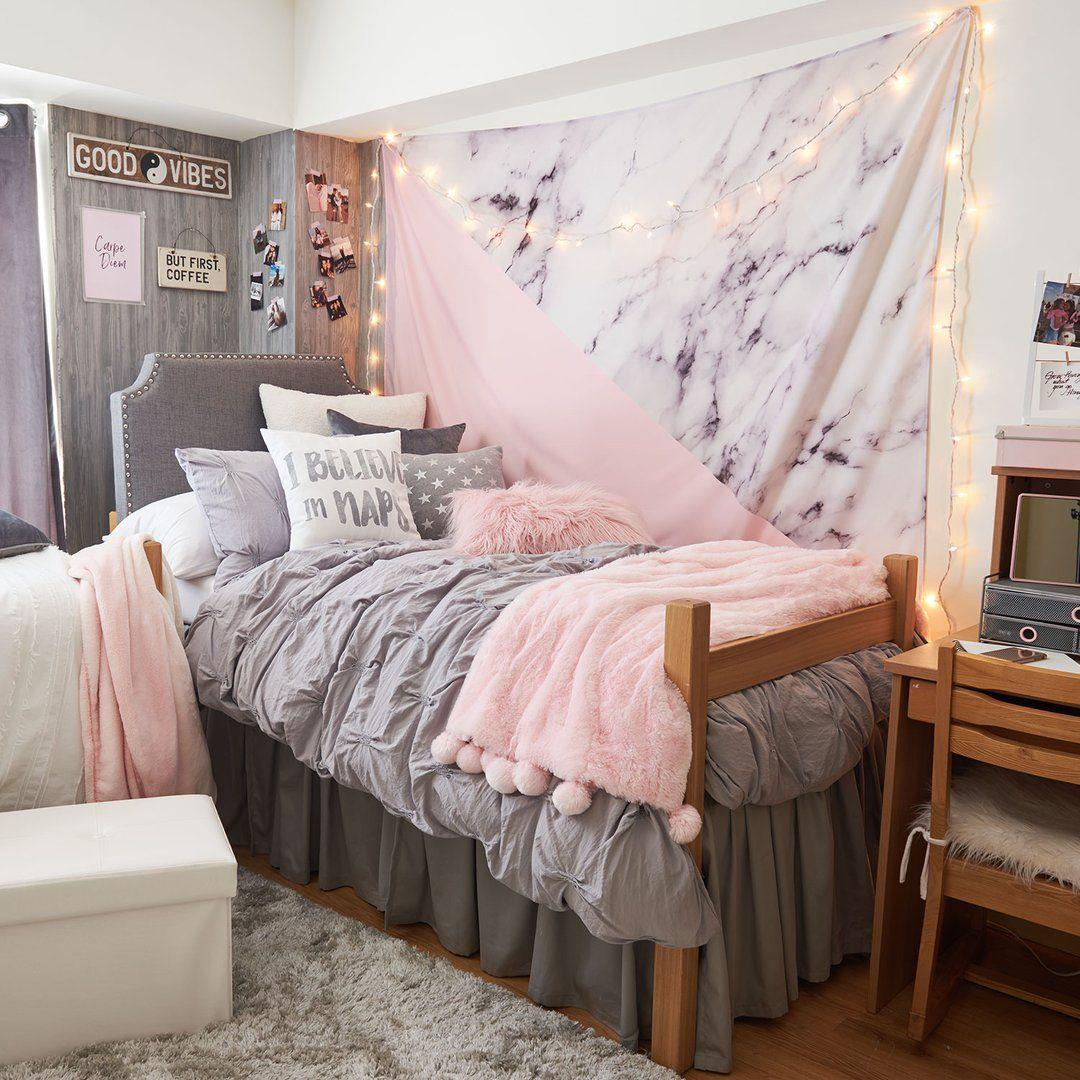 Cute VSCO Teen Girl Bedroom Ideas 27