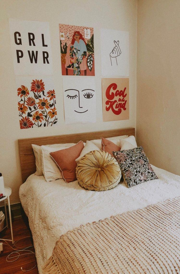 Cute VSCO Teen Girl Bedroom Ideas 8