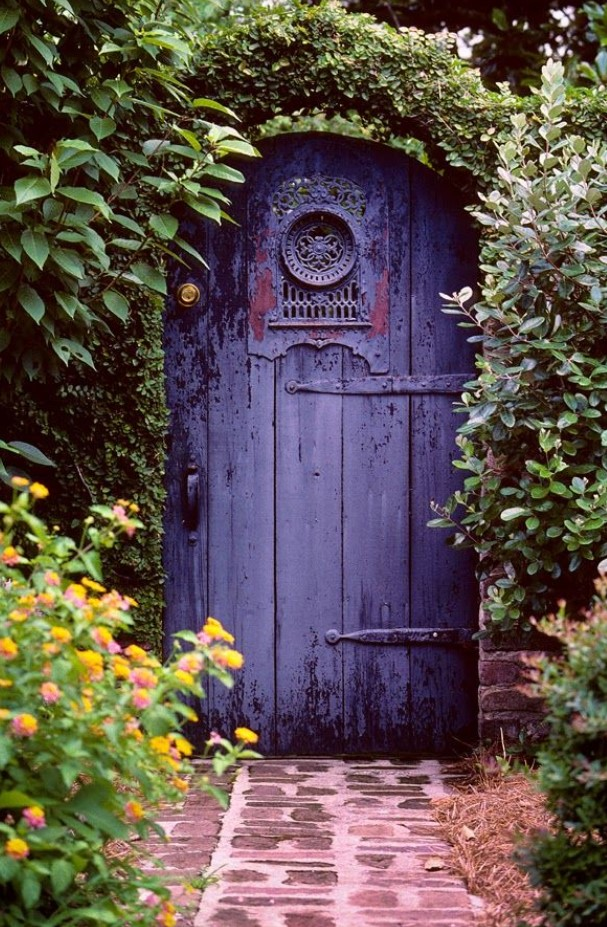 Inexpensive Secret Wood Garden Gates 19