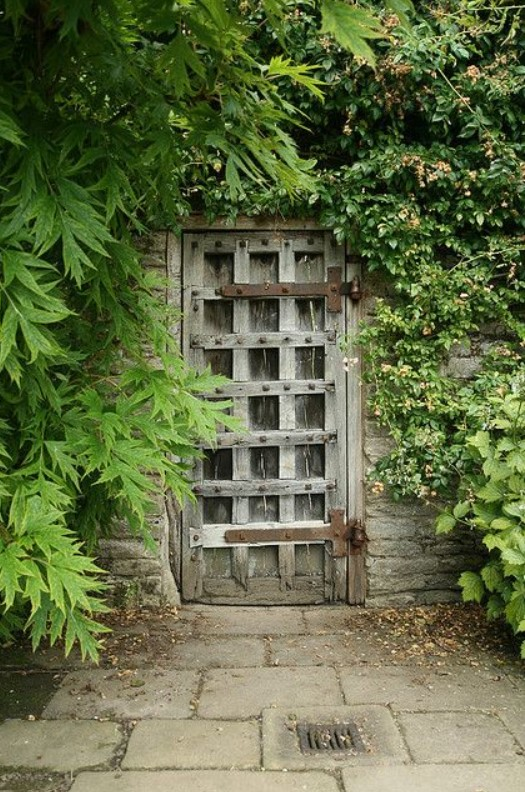 Inexpensive Secret Wood Garden Gates 5