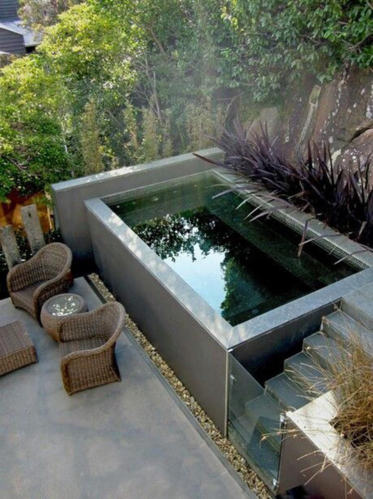 Affordable Small Backyard with Plunge Pool 31