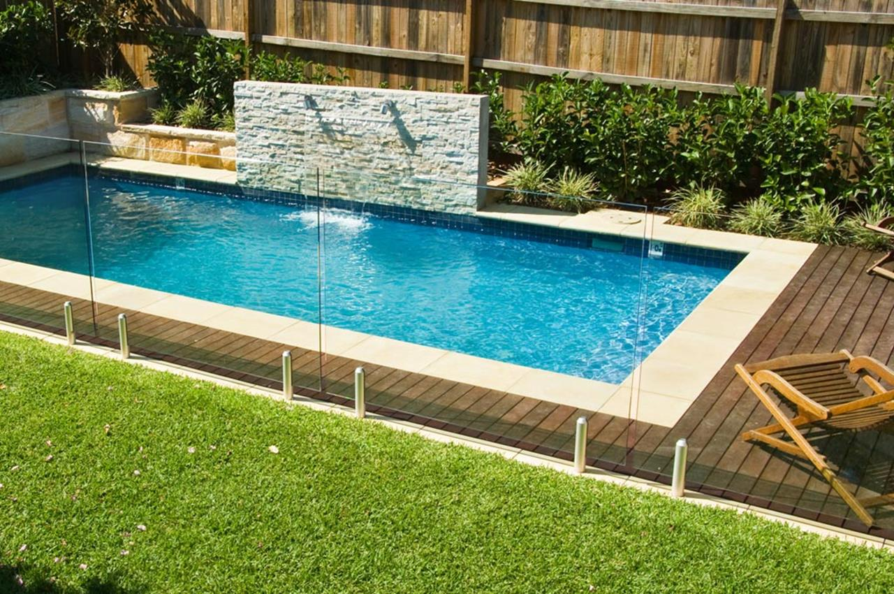 Affordable Small Backyard with Plunge Pool 35