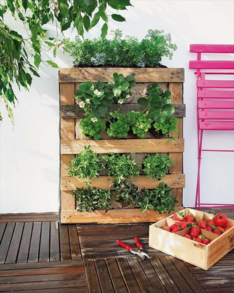 Upcycled Wood Pallet Gardens 17