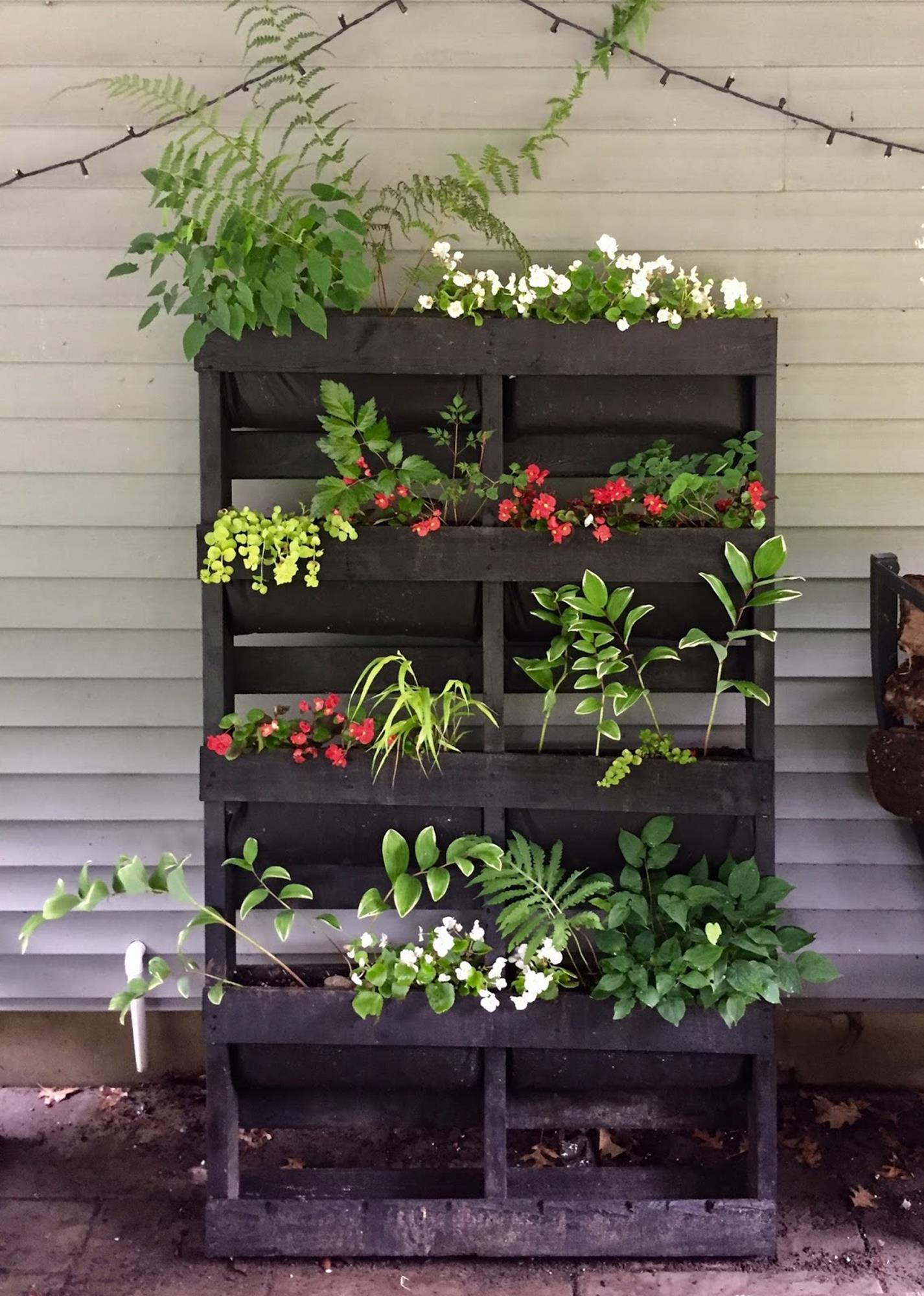 Upcycled Wood Pallet Gardens 18