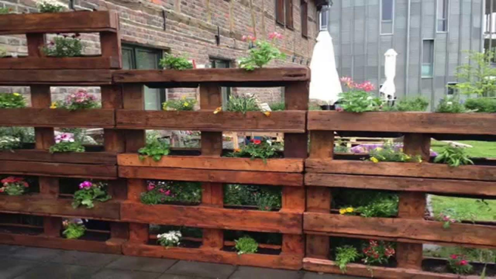 Upcycled Wood Pallet Gardens 6