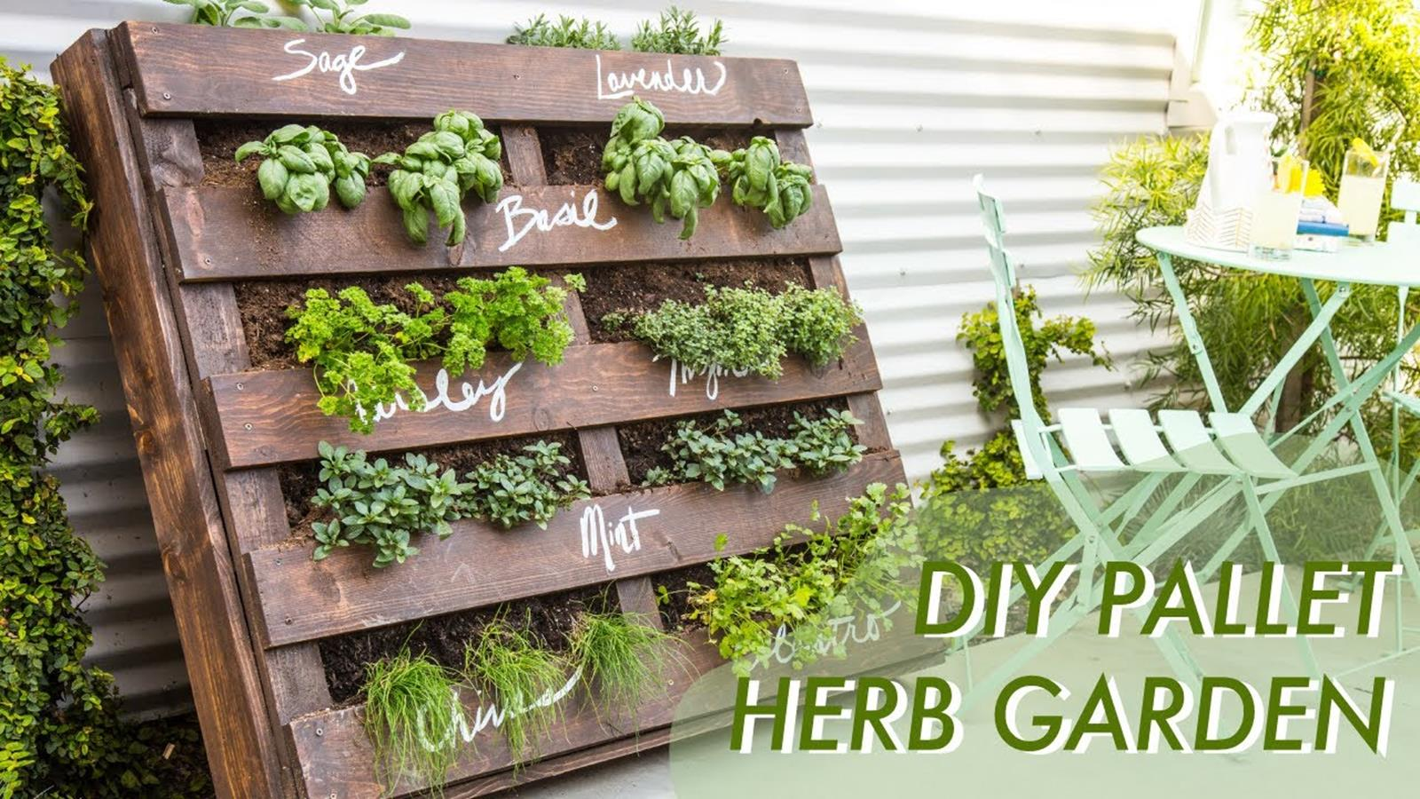 Upcycled Wood Pallet Gardens 7