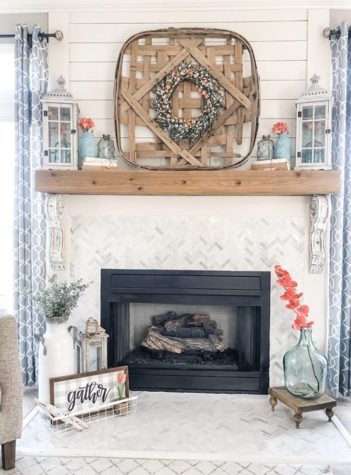 Spring Fireplace Ideas