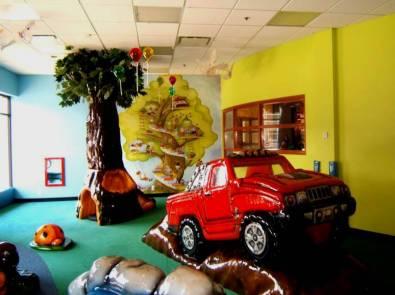 choix de murales et de coloration pour la garderie