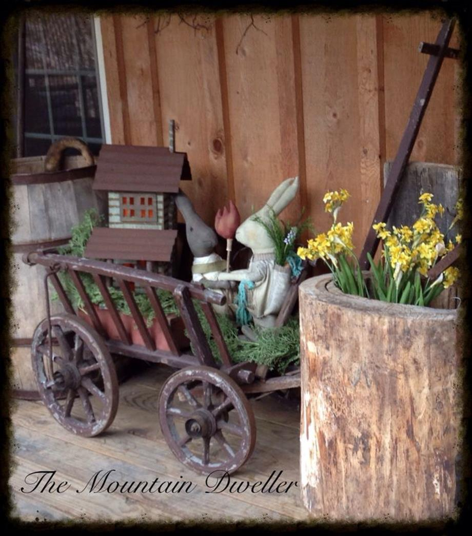 Country Spring Decorating Ideas On A Budget 16