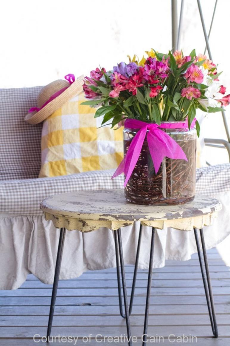 Country Spring Decorating Ideas On A Budget 17