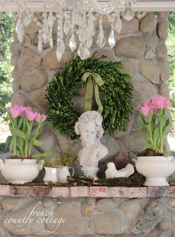 Country Spring Decorating Ideas On A Budget 42
