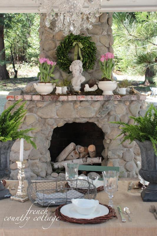 Country Spring Decorating Ideas On A Budget 5