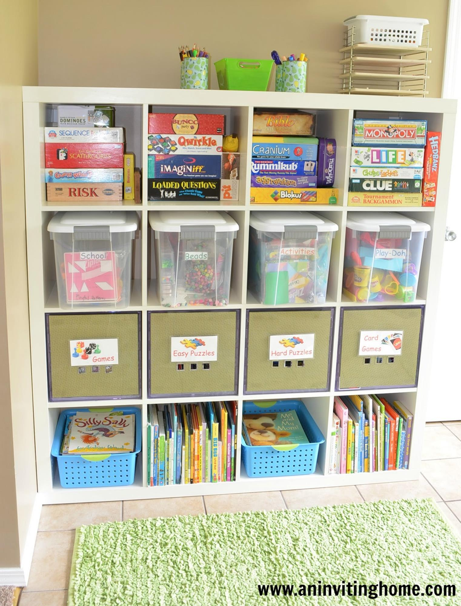 Craft Room Storage Organization Ideas On a Budget 24
