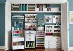 Craft Room Storage Organization Ideas On a Budget 39
