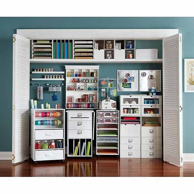 Charmant Craft Room Storage Organization Ideas On A Budget 39