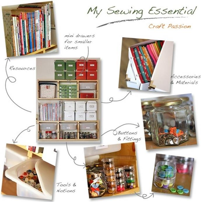 Craft Room Storage Organization Ideas On a Budget 41