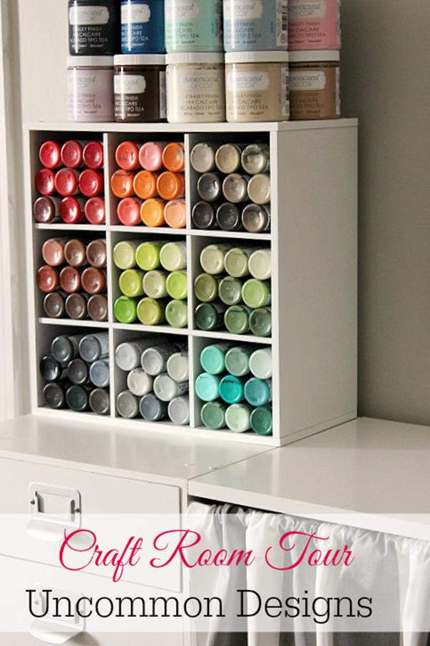 Craft Room Storage Organization Ideas On a Budget 6