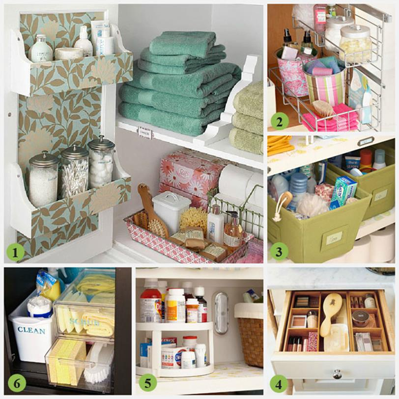 DIY Bathroom Organization Ideas On a Budget 11