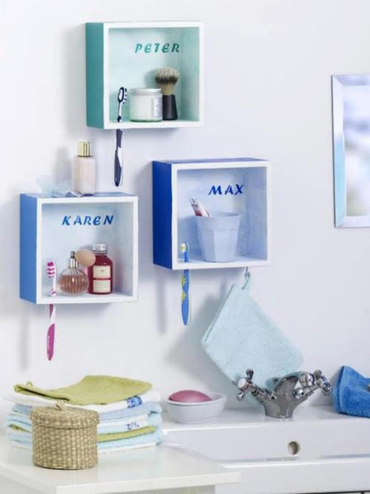 DIY Bathroom Organization Ideas On a Budget 35