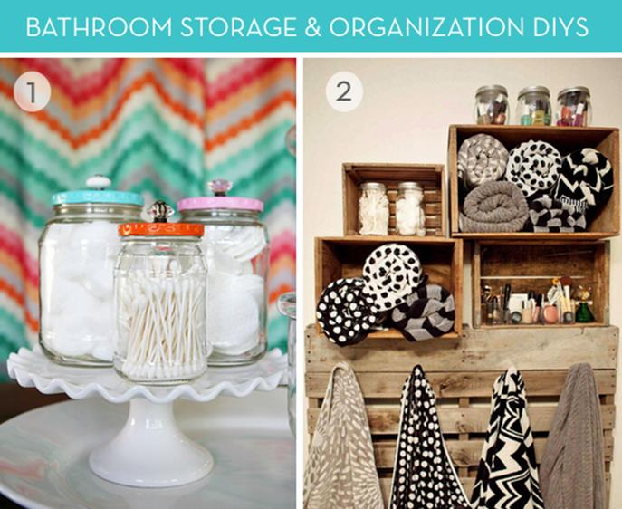 DIY Bathroom Organization Ideas On a Budget 4