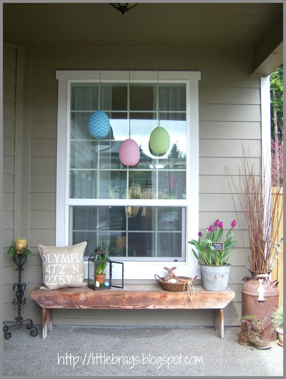 DIY Front Door Easter Decorating Ideas 10