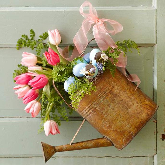 DIY Front Door Easter Decorating Ideas 28