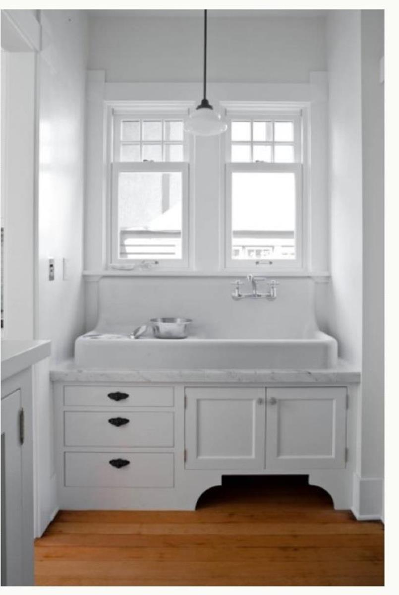 Farmhouse Style Bathroom Sink Ideas 12